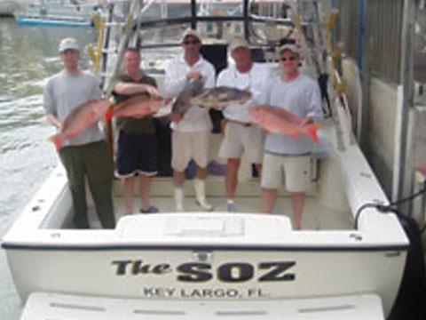 Key largo fishing adventures on keystv for Key largo party boat fishing