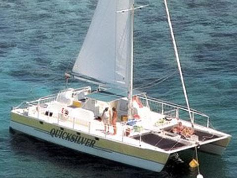 Quicksilver Catamaran Charters On Keystv