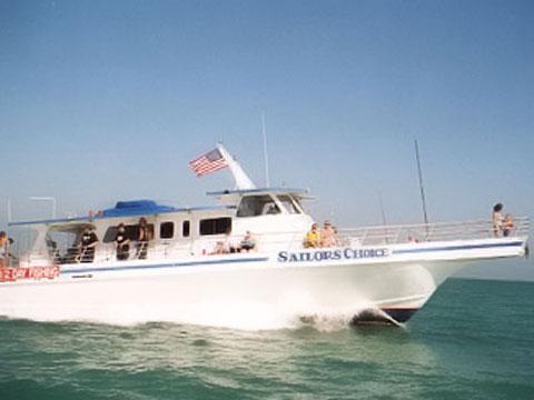 Sailors choice party boat on keystv for Key largo party boat fishing
